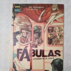 Cómics: FÁBULAS - LEYENDAS EN EL EXILIO (WILLINGHAM, MEDINA). Lote 138615998