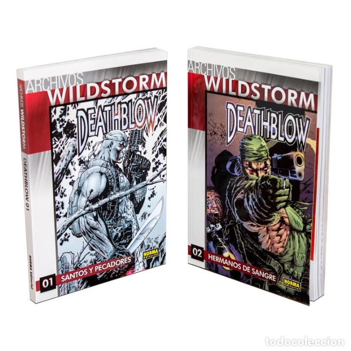 Cómics: PACK WILDSTORM 5. DEATHBLOW. 2 CÓMICS - JIM LEE/BRANDON CHOI DESCATALOGADO!!! OFERTA!!! - Foto 1 - 138674050