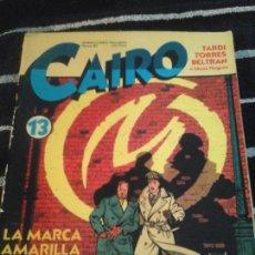 Cómics: CAIRO N. 13. Lote 138885790
