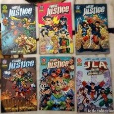 Cómics: DC, YOUNG JUSTICE, NORMA - LOTE COMPLETO DE 6 NUMEROS (2004). Lote 139107038