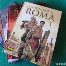 Cómics: LAS AGUILAS DE ROMA 5 TOMOS NORMA EDITORIAL. Lote 139159870