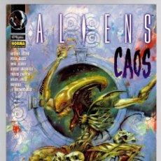 Cómics: ALIENS CAOS. VARIOS AUTORES. NORMA, 1998. Lote 139177878