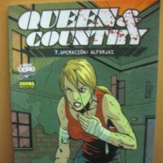 Comics: QUEEN & COUNTRY 7. OPERACION: ALFORJAS. (COL. NOIR Nº 33). NORMA EDITORIAL 2008. Lote 139186166