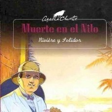 Cómics: AGATHA CHRISTIE. MUERTE EN EL NILO. TAPA DURA. COLOR. 64 PAGINAS. Lote 151518926