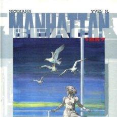Cómics: HERMANN. MANHATTAN BEACH 1957. DOLMEN. TAPA DURA. COLOR. Lote 143129318