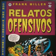 Cómics: RELATOS OFENSIVOS DE FRANK MILLER. NUMERO UNICO 1ª EDICION. NORMA EDITORIAL 1998. Lote 139565706