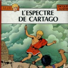 Cómics: JACQUES MARTIN - ALIX - L' ESPECTRE DE CARTAGO - NORMA EDITORIAL 1982 - EN CATALA - TAPA DURA. Lote 139666082