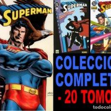 Cómics: SUPERMAN NORMA VOLUMEN 1. COLECCION COMPLETA: 20 TOMOS. Lote 163712254