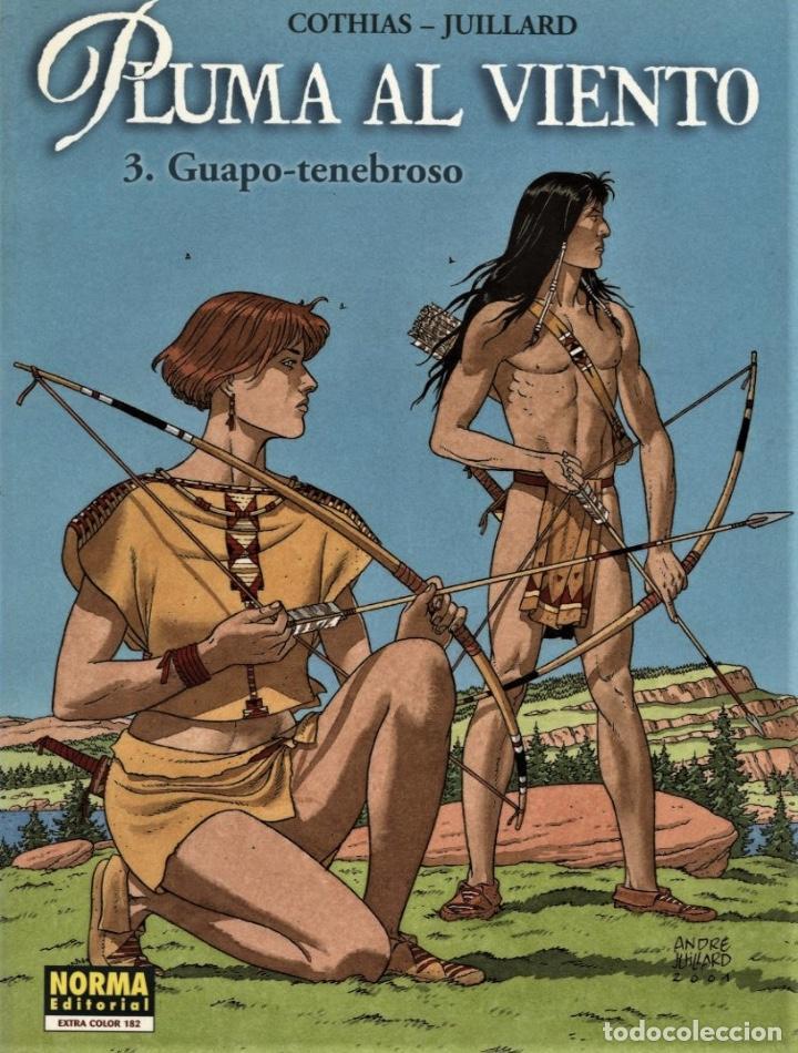 PLUMA AL VIENTO-3: GUAPO-TENEBROSO (NORMA, 2001) DE JUILLARD Y COTHIAS. EXTRA COLOR-182 (Tebeos y Comics - Norma - Comic Europeo)