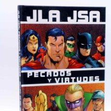 Cómics: JLA JSA PECADOS Y VIRTUDES (GOYER / JOHNS / CARLOS PACHECO / MERINO) NORMA, 2003. OFRT ANTES 12E. Lote 147422964