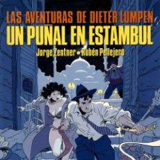 Comics: DIETER LUMPEN: UN PUÑAL EN ESTAMBUL (NORMA, 1989) DE PELLEJERO Y ZENTNER. EXTRA COLOR-59. Lote 140353474