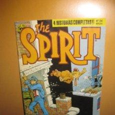 Cómics: WILL EISNER. THE SPIRIT Nº 24. 4 HISTORIAS COMPLETAS. NORMA EDITORIAL 1990.. Lote 140386606