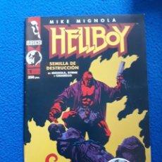 Cómics: HELLBOY - SEMILLA DE DESTRUCCIÓN Nº 1 DE 4. Lote 140411674