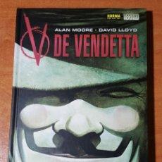 Cómics: V DE VENDETA -ALAN MOORE-DAVID LLOYD- NORMA AÑO 2002. Lote 140424130