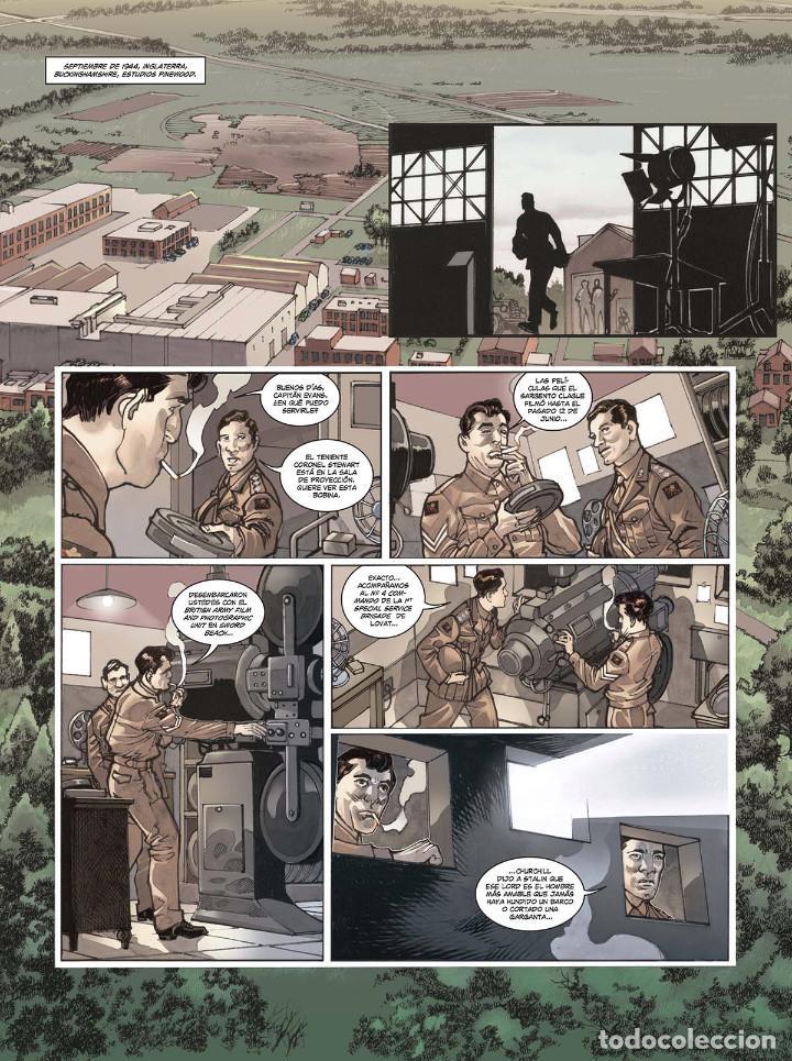 Cómics: Cómics. OPERACIÓN OVERLORD 4. COMANDO KIEFFER - Bruno Falba/Davidé Fabbri (Cartoné) - Foto 2 - 265895068
