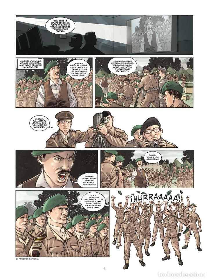 Cómics: Cómics. OPERACIÓN OVERLORD 4. COMANDO KIEFFER - Bruno Falba/Davidé Fabbri (Cartoné) - Foto 3 - 265895068