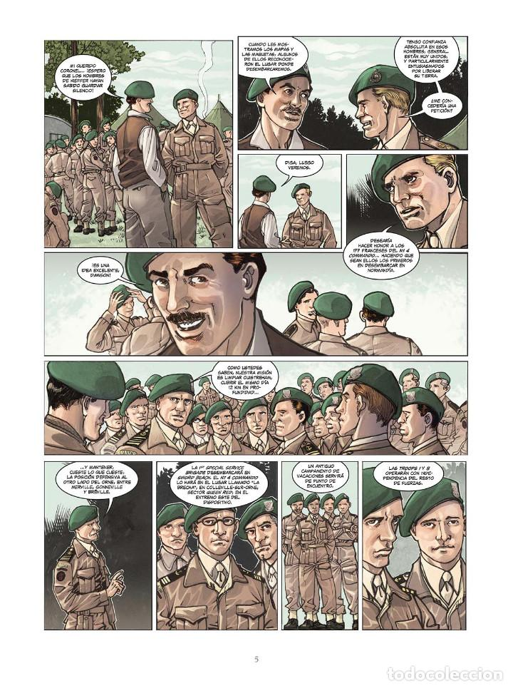 Cómics: Cómics. OPERACIÓN OVERLORD 4. COMANDO KIEFFER - Bruno Falba/Davidé Fabbri (Cartoné) - Foto 4 - 265895068
