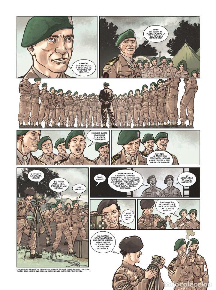 Cómics: Cómics. OPERACIÓN OVERLORD 4. COMANDO KIEFFER - Bruno Falba/Davidé Fabbri (Cartoné) - Foto 5 - 265895068
