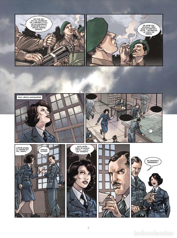 Cómics: Cómics. OPERACIÓN OVERLORD 4. COMANDO KIEFFER - Bruno Falba/Davidé Fabbri (Cartoné) - Foto 6 - 265895068