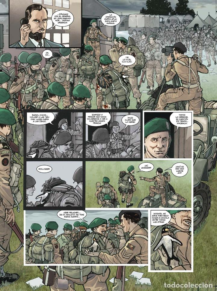 Cómics: Cómics. OPERACIÓN OVERLORD 4. COMANDO KIEFFER - Bruno Falba/Davidé Fabbri (Cartoné) - Foto 7 - 265895068