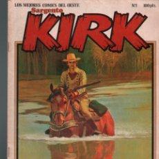 Cómics: SARGENTO KIRK Nº 1.LOCO SEXTON SARGENTO KIRK, JONATHAN CARTLAND. Lote 140458230
