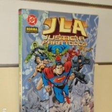 Cómics: JLA JUSTICIA PARA TODOS - NORMA OFERTA. Lote 140470062
