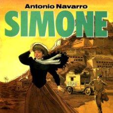 Cómics: SIMONE: TODO COMENZÓ EN TOZEUR (NORMA, 1991)DE ANTONIO NAVARRO. COL. EL MURO-19. Lote 140480874