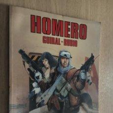 Cómics: HOMERO. GUIRAL-RUBIO. CIMOC. 1992. Lote 140507254