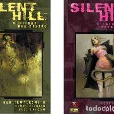 Cómics: SILENT HILL: TOMO Nª1 + TOMO Nª2.(COLECCIÓN MADE IN HELL 31 Y 33) - 20% DESCUENTO-. Lote 140514122
