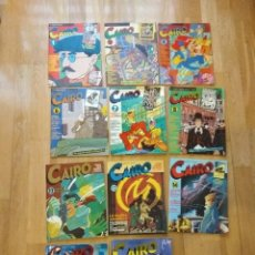 Cómics: LOTE CAIRO 1,2,4,6,7,8,12,13,14,17, 21. Lote 140608946