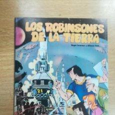 Cómics: LOS ROBINSONES DE LA TIERRA. Lote 140734961