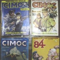 Cómics: 3 COMICS CIMOC: PRIMAVERA 2 (36-37-38, NUEVA ÉPOCA 1 Y 5 Y 1 ZONA 84. Lote 140881710