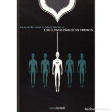 Cómics: LOS ULTIMOS DIAS DE UN INMORTAL. NINTH EDICIONES. TAPA DURA. 150 PAGINAS. Lote 255974270