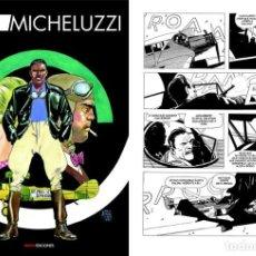 Cómics: ATTILIO MICHELUZZI. AIR MAIL, NINTH EDICIONES. TAPA DURA. 200 PAGINAS. Lote 287675648