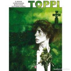 Cómics: SERGIO TOPPI: BLACK & TANS Y OTRAS HISTORIAS NINTH EDICIONES. TAPA DURA. 48 PAGINAS. Lote 151519145