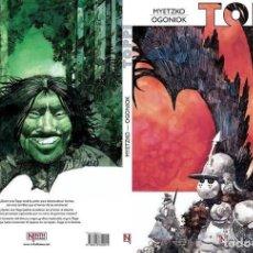 Cómics: SERGIO TOPPI: MYETZKO Y OGONIOK. NINTH EDICIONES. TAPA DURA. 52 PAGINAS. Lote 151519010