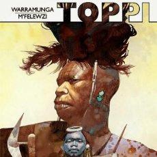 Cómics: SERGIO TOPPI: WARRAMUNGA - M'FELEWZI. NINTH EDICIONES. TAPA DURA. 56 PAGINAS. Lote 151519180