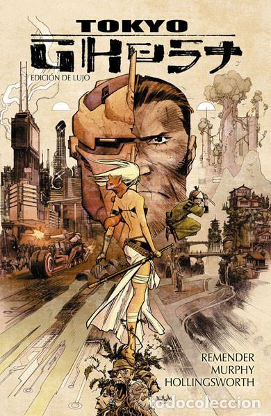 CÓMICS. TOKYO GHOST (EDICIÓN DE LUJO) - RICK REMENDER/SEAN MURPHY/MATT HOLLINGSWORTH (CARTONÉ) (Tebeos y Comics - Norma - Comic USA)