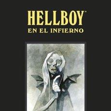 Cómics: CÓMICS. HELLBOY EN EL INFIERNO. EDICIÓN INTEGRAL - MIGNOLA/MCMAHON/MOON/BÁ/CORBEN/FEGREDO/ (CARTONÉ). Lote 140938510