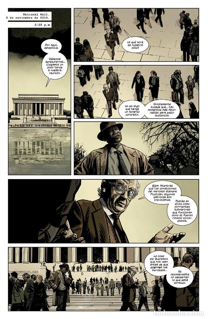 Cómics: Cómics. LOS ASESINATOS DEL LUNES NEGRO 2 - Jonathan Hickman/Tomm Coker/Michael Garland - Foto 6 - 140939882