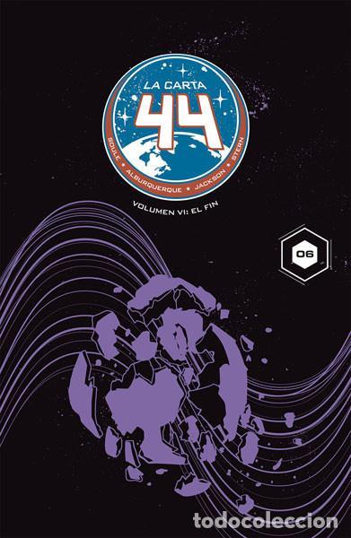 CÓMICS. LA CARTA 44 6. EL FIN - CHARLES SOULE/JOELLE JONES/DREW MOSS/RYAN KELLY/ALISE GLUŠKOVA/FOSS (Tebeos y Comics - Norma - Comic USA)