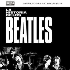 Cómics: CÓMICS. LA HISTORIA DE LOS BEATLES - ANGUS ALLAN/ARTHUR RANSON (CARTONÉ). Lote 142473942