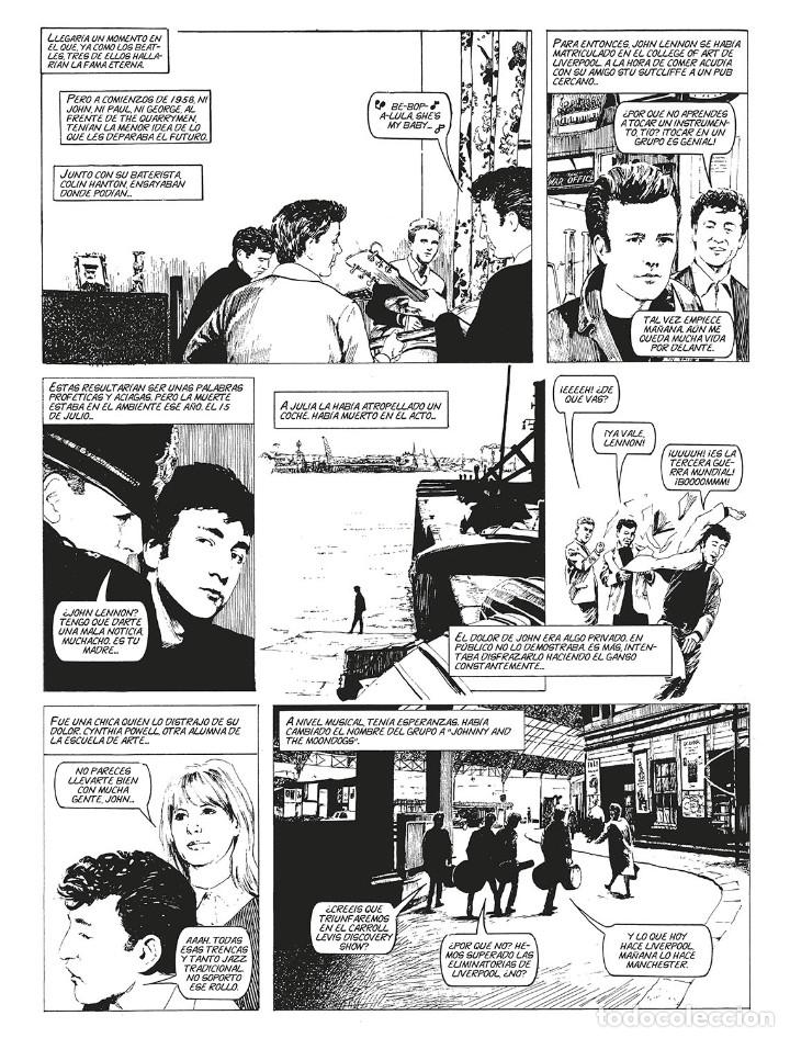 Cómics: Cómics. LA HISTORIA DE LOS BEATLES - Angus Allan/Arthur Ranson (Cartoné) - Foto 3 - 142473942