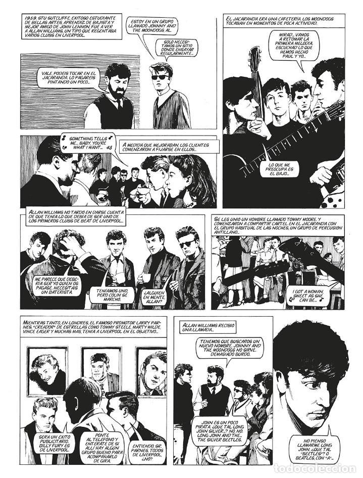 Cómics: Cómics. LA HISTORIA DE LOS BEATLES - Angus Allan/Arthur Ranson (Cartoné) - Foto 5 - 142473942