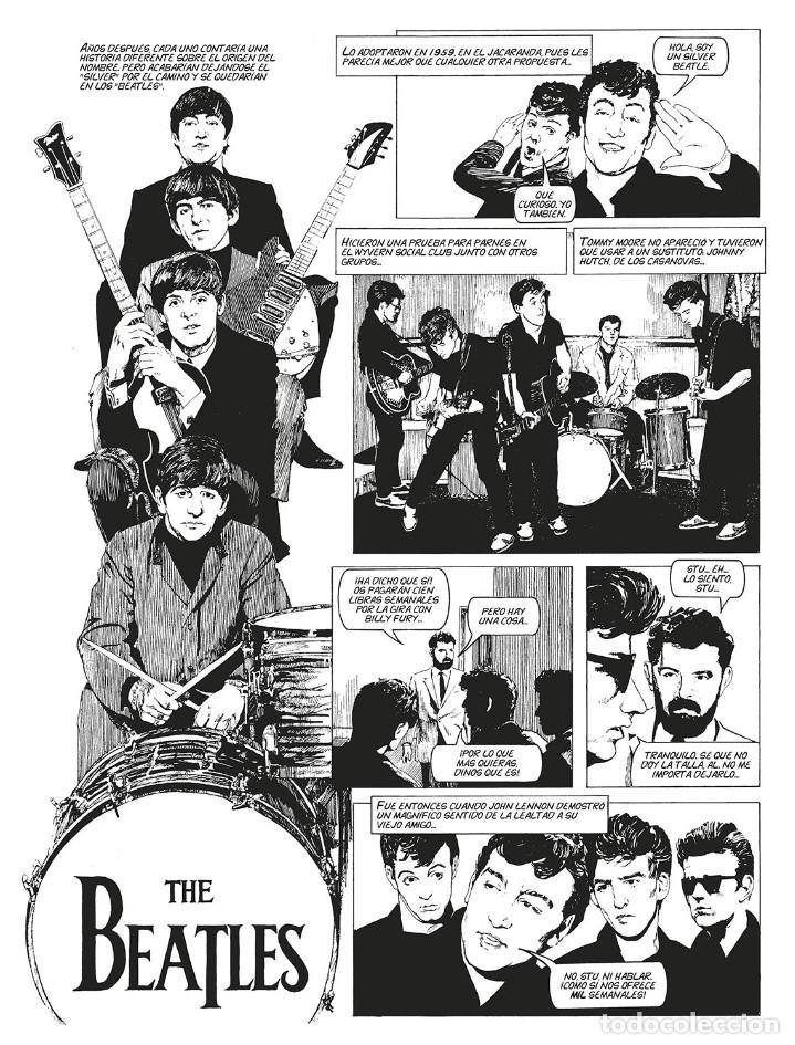 Cómics: Cómics. LA HISTORIA DE LOS BEATLES - Angus Allan/Arthur Ranson (Cartoné) - Foto 6 - 142473942