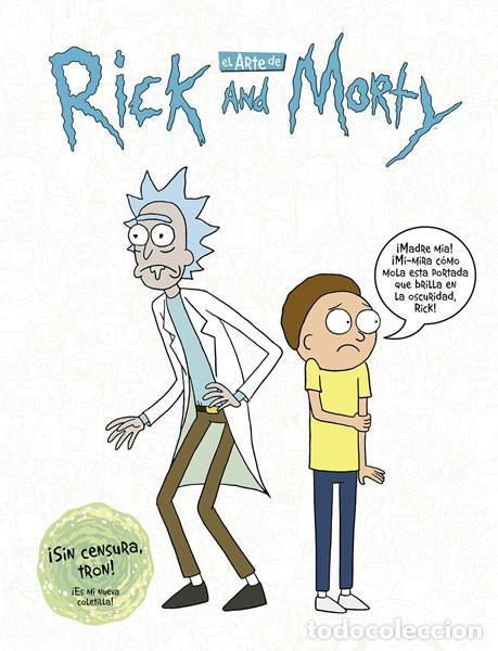 CÓMICS. EL ARTE DE RICK Y MORTY - JAMES SICILIANO (CARTONÉ) (Tebeos y Comics - Norma - Comic USA)