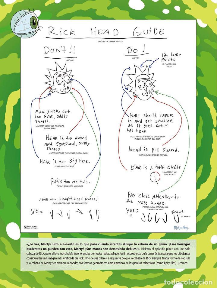 Cómics: Cómics. EL ARTE DE RICK Y MORTY - James Siciliano (Cartoné) - Foto 4 - 165516581