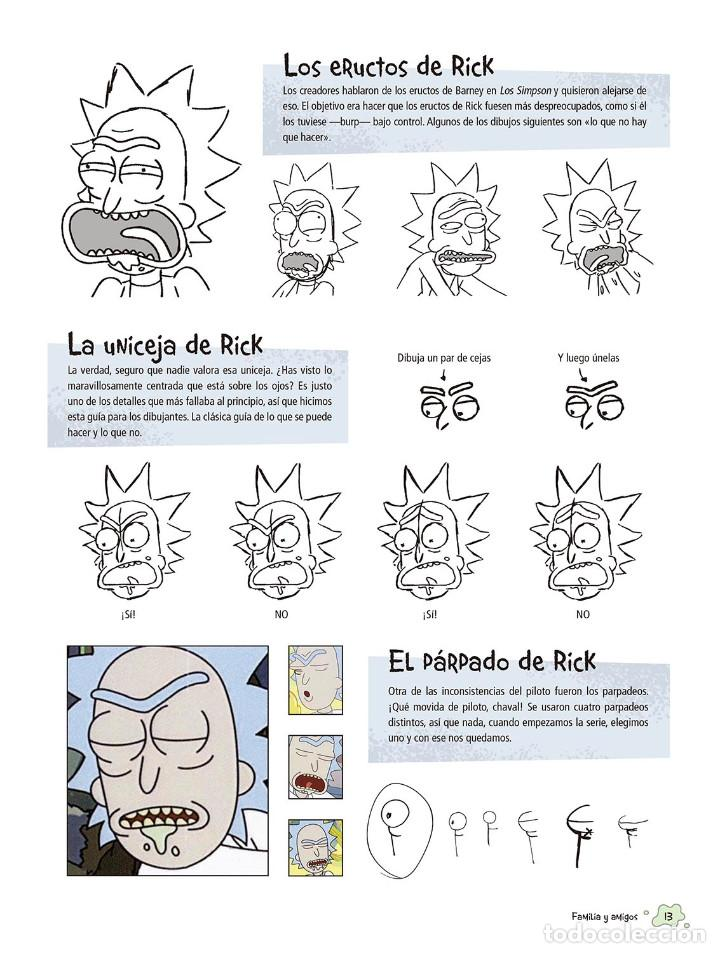 Cómics: Cómics. EL ARTE DE RICK Y MORTY - James Siciliano (Cartoné) - Foto 5 - 165516581