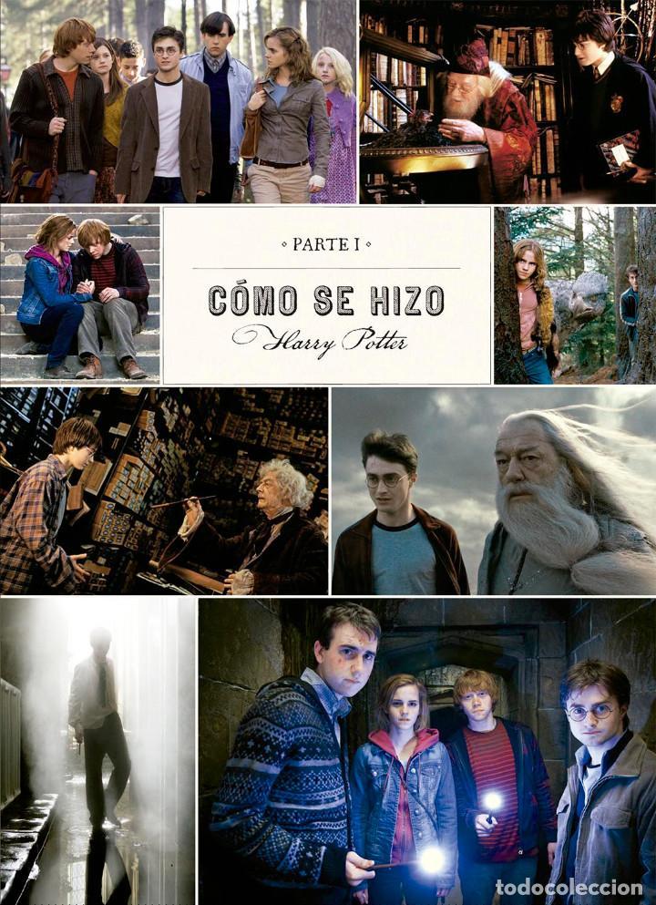 Cómics: Cómics. HARRY POTTER. DE LA PÁGINA A LA PANTALLA. EL VIAJE CINEMATOGRÁFICO COMPLETO - McC (Cartoné) - Foto 3 - 140942130