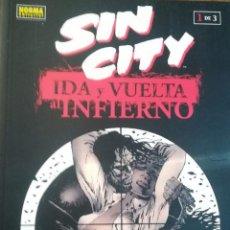 Cómics: SIN CITY IDA Y VUELTA AL INFIERNO 1Y 2 DE 3. Lote 141455478